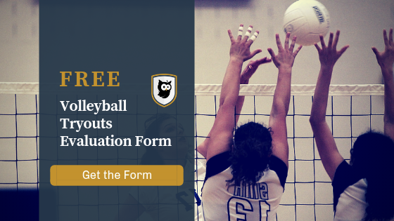 Youth Volleyball Tryouts Evaluation Form