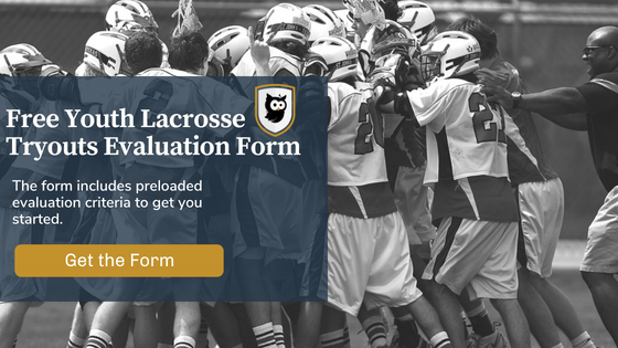 youth lacrosse tryouts eval form