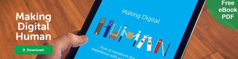 Making Digital Human  download your free 70-page eBook that explores how to transform the online experience with web personalisation