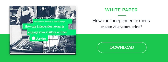 How can independent experts engage your visitors online?