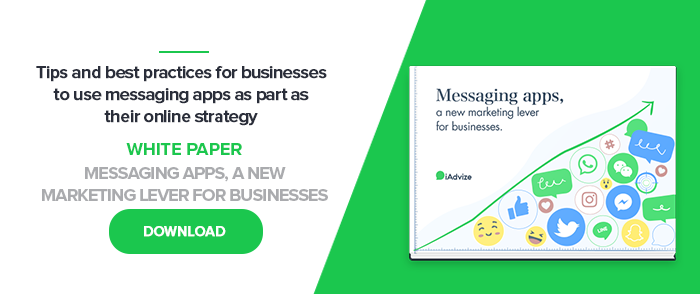 Messaging apps, a new marketing lever for businesses