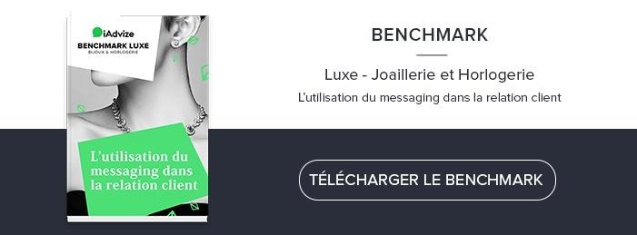 Benchmark Luxe - L'utilisation du messaging dans la relation client
