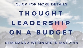 thought leadership seminar webinar