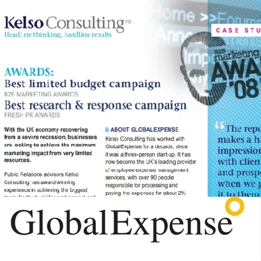 b2b award winning case study thought leadership
