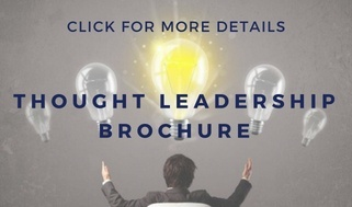 Thought leadership public relations material