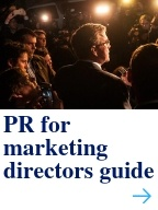 PR for marketing directors guide