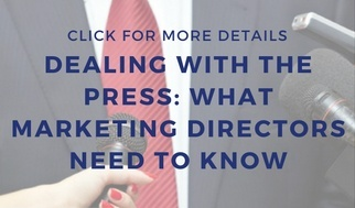 PR tips for marketing directors