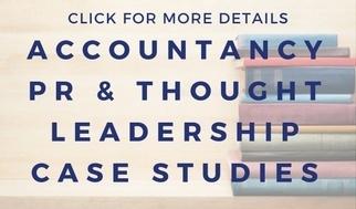 pr agency accountancy experience