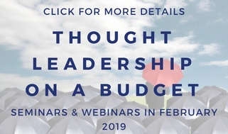 thought leadership help seminar webinar