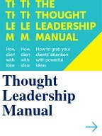 Thought Leadership Manual book