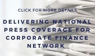 public relations corporate finance case study