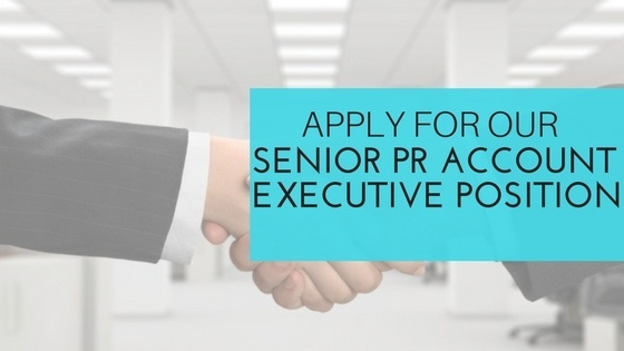 Senior PR Account Executive Newbury