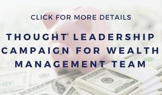 wealth management public relations campaign