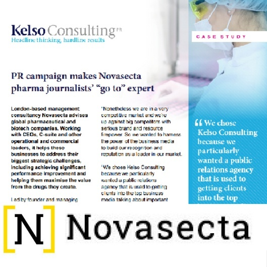 pharma public relations case study