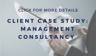 Management consultancy dramatically & quickly raises its profile in the media