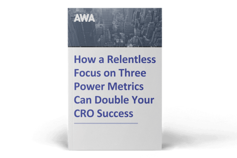 How a Relentless Focus on Three Power Metrics Can Double Your CRO Success