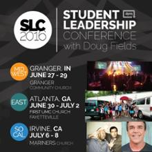 Check out the Studennt Leadership Conference with Doug Fields