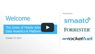 The Union of Mobile Advertising, Data Analytics and Platforms