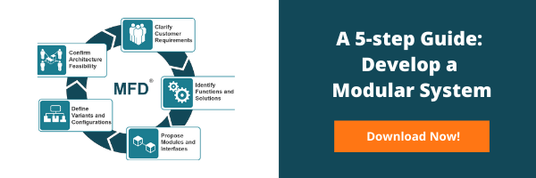 5 step guide to create a Modular Product Architecture