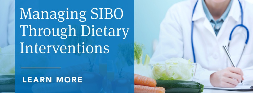 Managing SIBO Through Dietary Interventions
