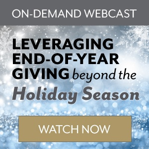Leveraging End-of-Year Giving Beyond the Holiday Season