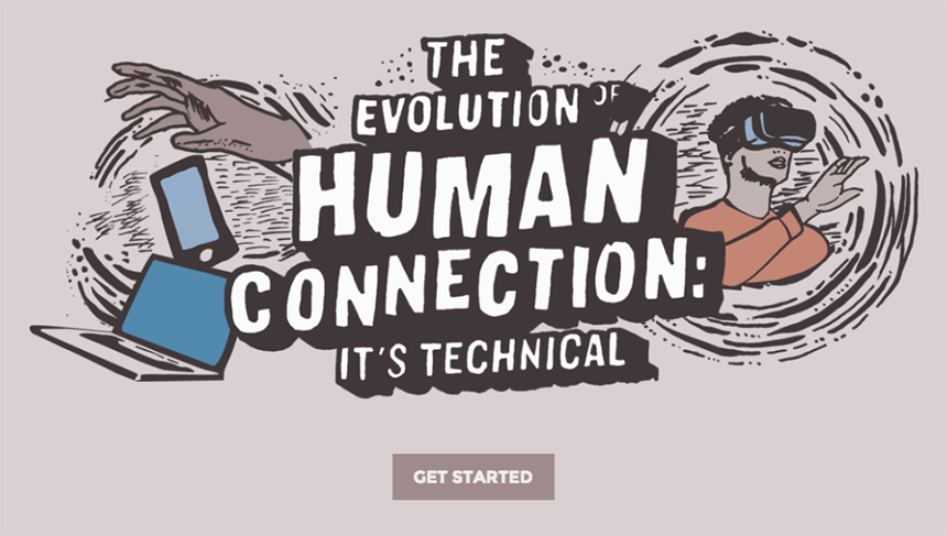 Interactive eBook: The Evolution of Human Connection