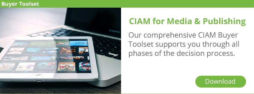CIAM for Media & Publishing