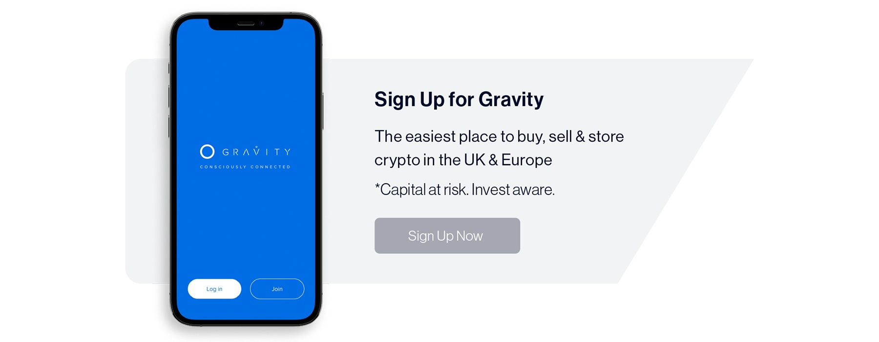 Sign up for Gravity