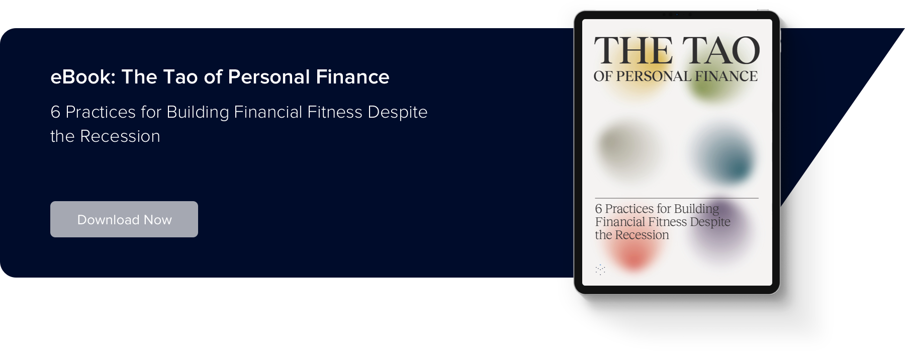 Tao of Personal Finance eBook