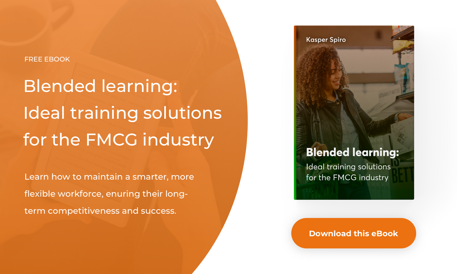 Blended learning in FMCG