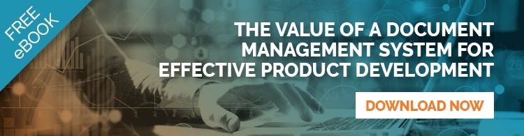 Value of a DMS for product development