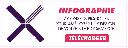 Télécharger l'infographie : améliorez l'UX design de votre site e-commerce