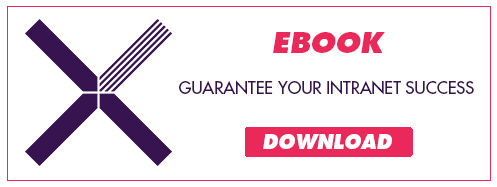 "Download the ebook ""6 tips to guarantee your intranet success"""