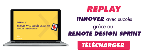 télécharger le replay sur le Remote Design Sprint