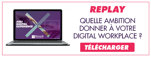 Visionnez le replay sur la digital workplace