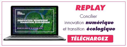 Téléchargez le replay sur l'innovation numérique et la transition écologique