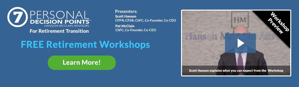 Money Matters Workshops