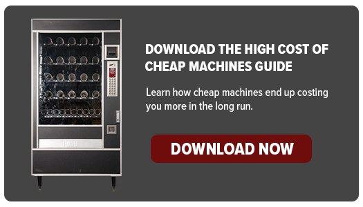 Cheap machines are more expensive than they seem.