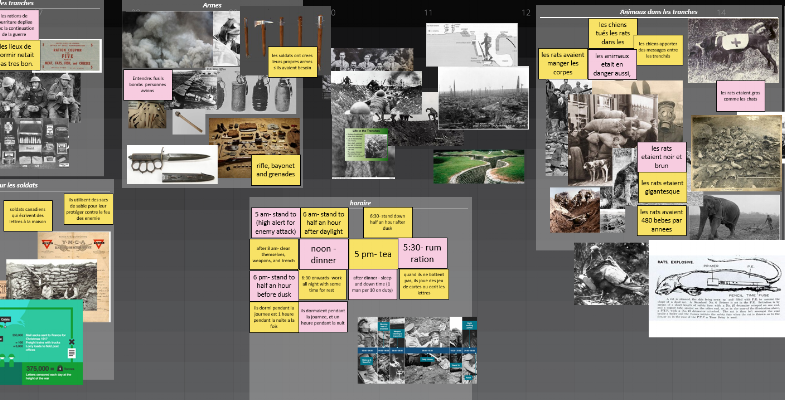 World War 1 canvas for the Span system