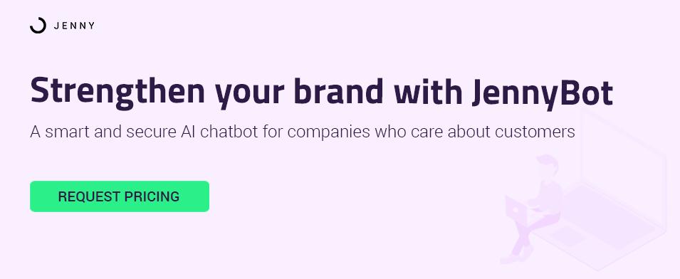 getjenny customer service chatbot pricing