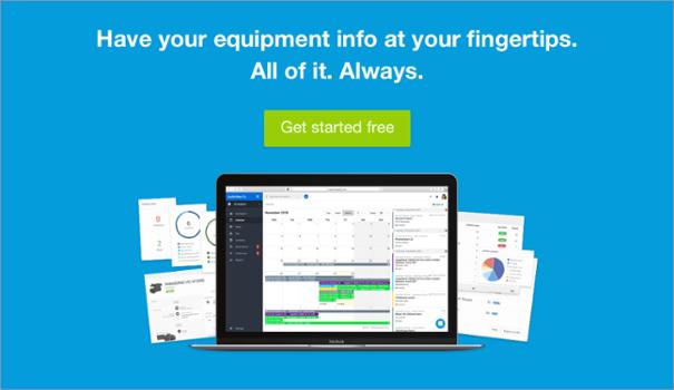 equipment info at fingertips