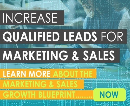 Increased qualified leads for marketing and sales. Learn more about the Marketing and Sales Growth Blueprint. Click here.