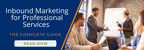 Inbound Marketing for Professional Services