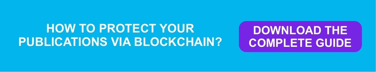 How to protect your publications via blockchain?