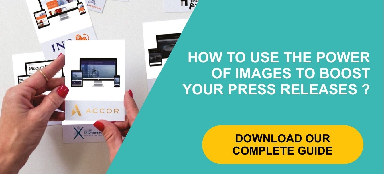 How to use the power of images to boost your press releases?