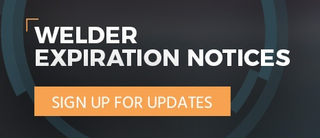 Sign Up for welder expiration updates
