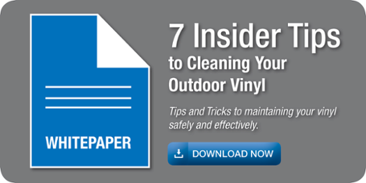 7 Insider tips to cleaning your outdoor vinyl