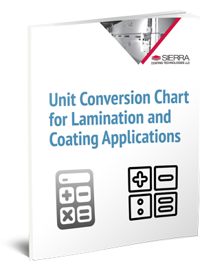 Unit Conversion Chart for Lamination and Coating Applications