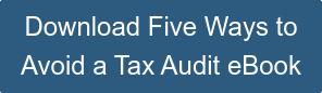 Download Five Ways to Avoid a Tax Audit eBook