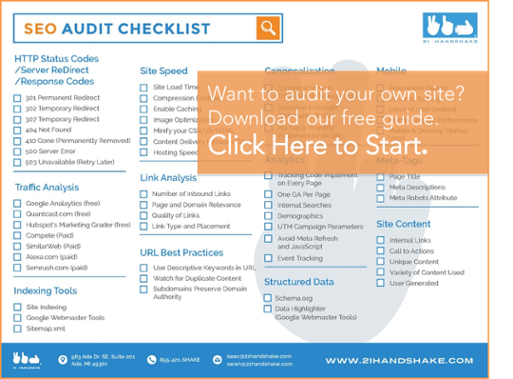 Download SEO Audit Checklist
